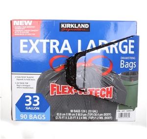 SIGNATURE Extra Large Drawstring Trash B