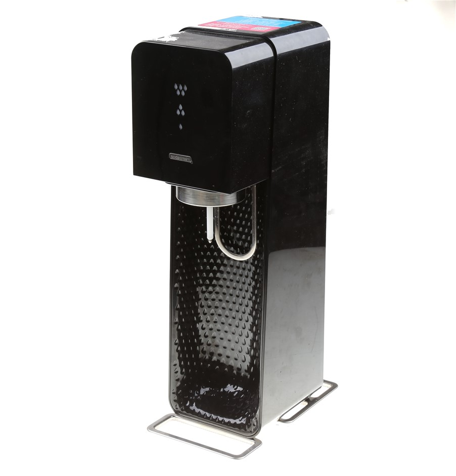 SODASTREAM Source Element Sparkling Water Maker, Black. N.B. Not in origina