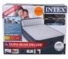 INTEX Dura-Beam Standard Series Deluxe Queen - High Airbed. (SN:CC52739) (2