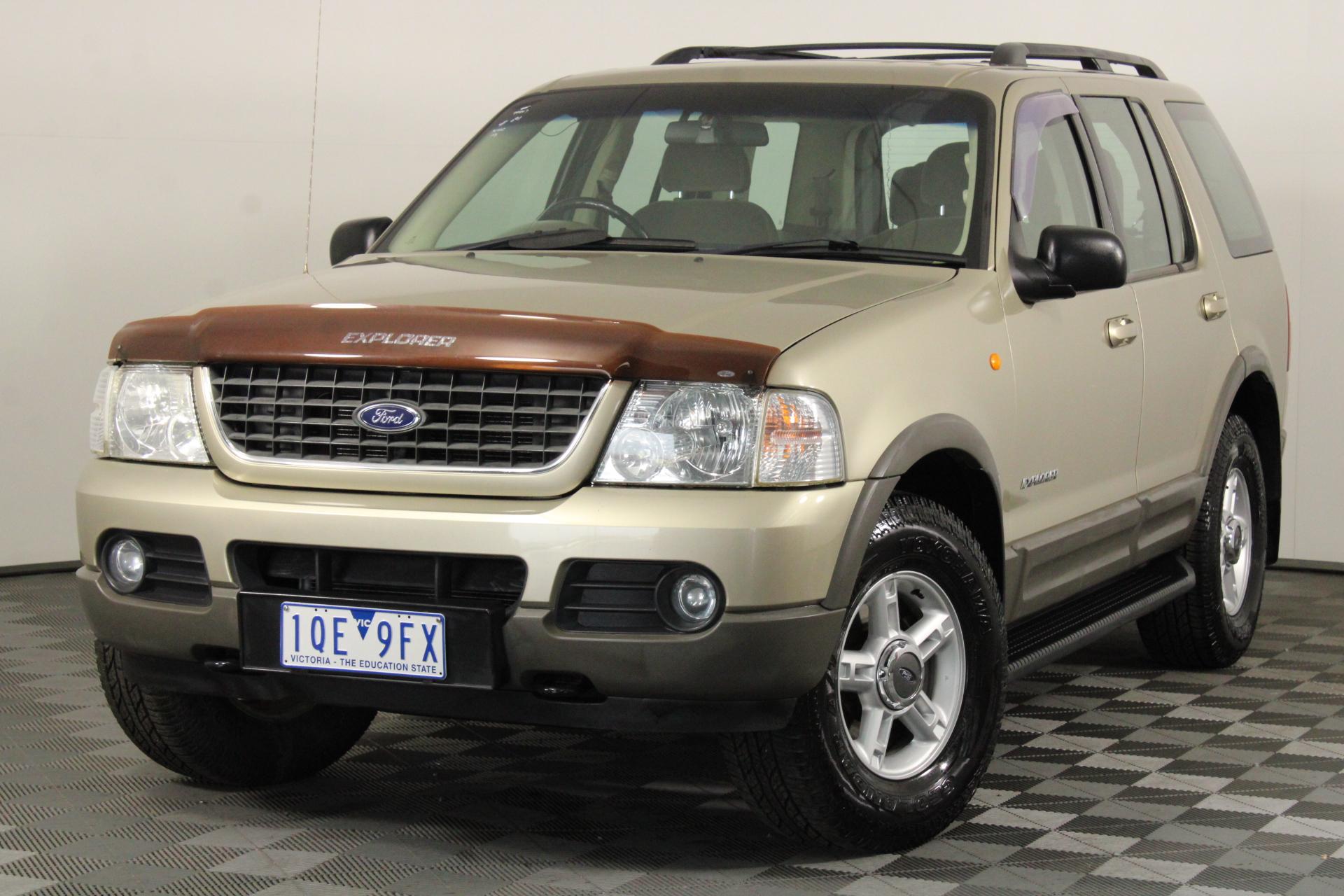 2002 Ford Explorer XLT (4x4) UT Automatic 7 Seats Wagon