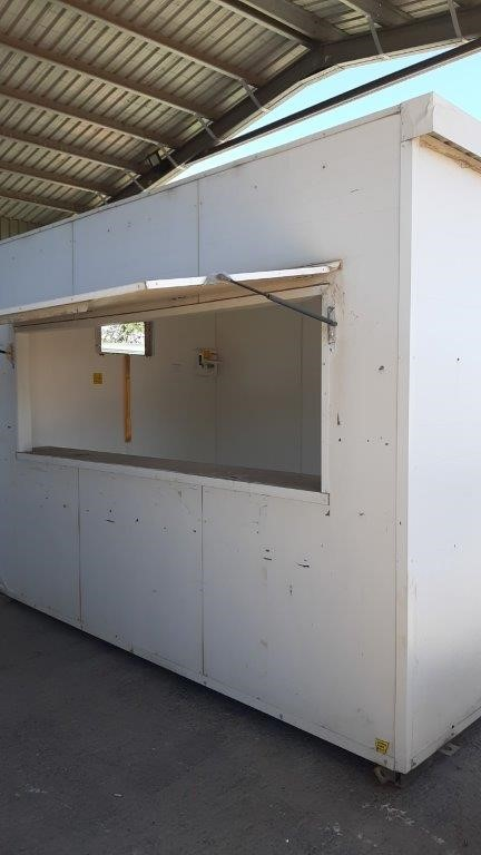 Portable building - Ticket Office - 3.6Mx2.4M