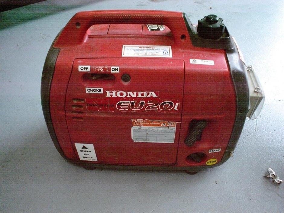Generator - 2.9 kVA Silenced Inverter - HONDA EU20i