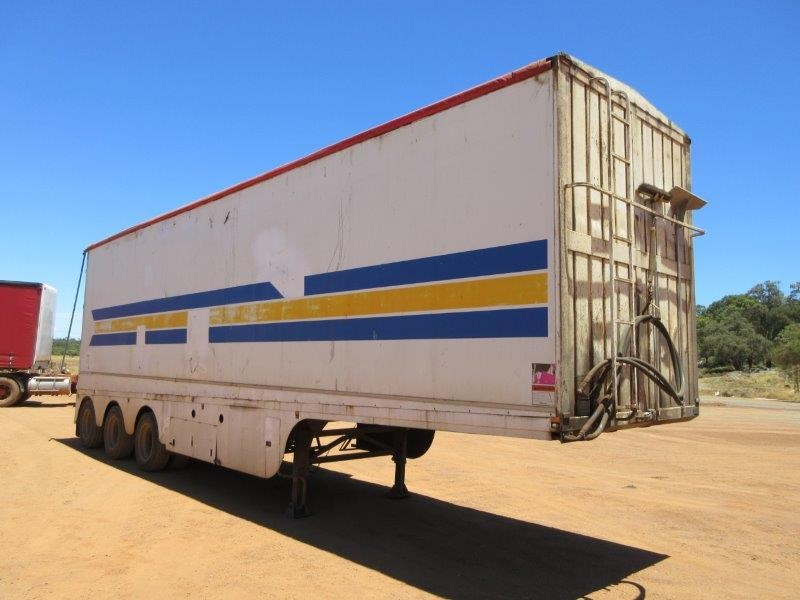 2007 Dickson 35Ft Triaxle Walking Floor