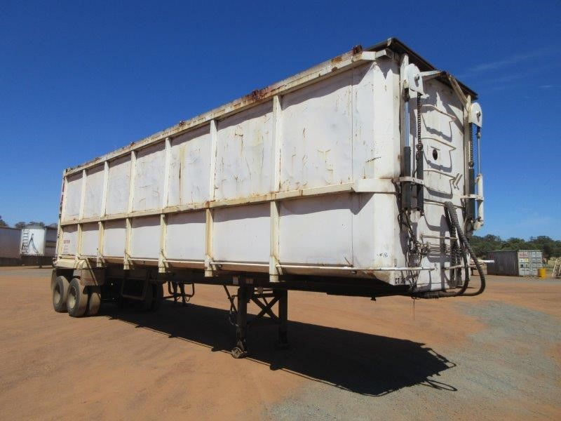 1999 Integrated ST2 Dual Axle Tipper Trailer