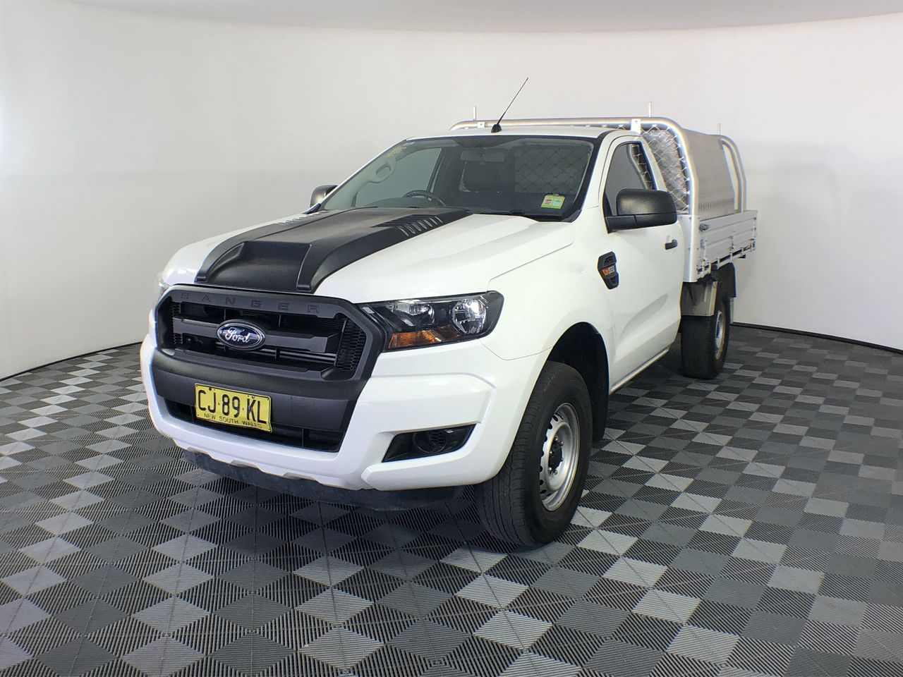 2016 Ford Ranger XL Hi-Rider PX II Turbo Diesel Auto Cab Chassis 46,199km
