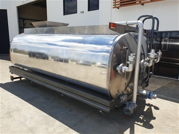 Unused 13,000L Aluminium Water Truck Kit