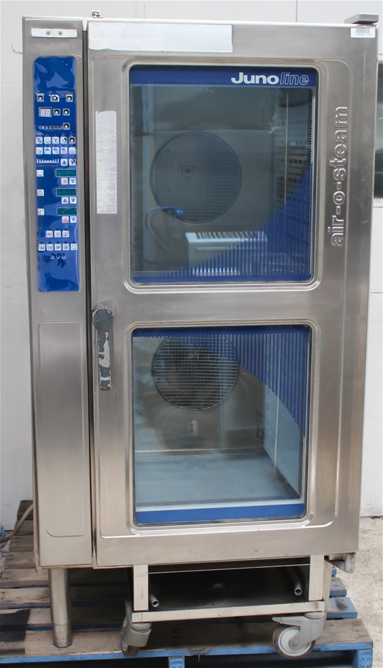 ELECTROLUX JUNO LINE AIR O STEAM 40 TRAY ELECTRIC COMBI OVEN