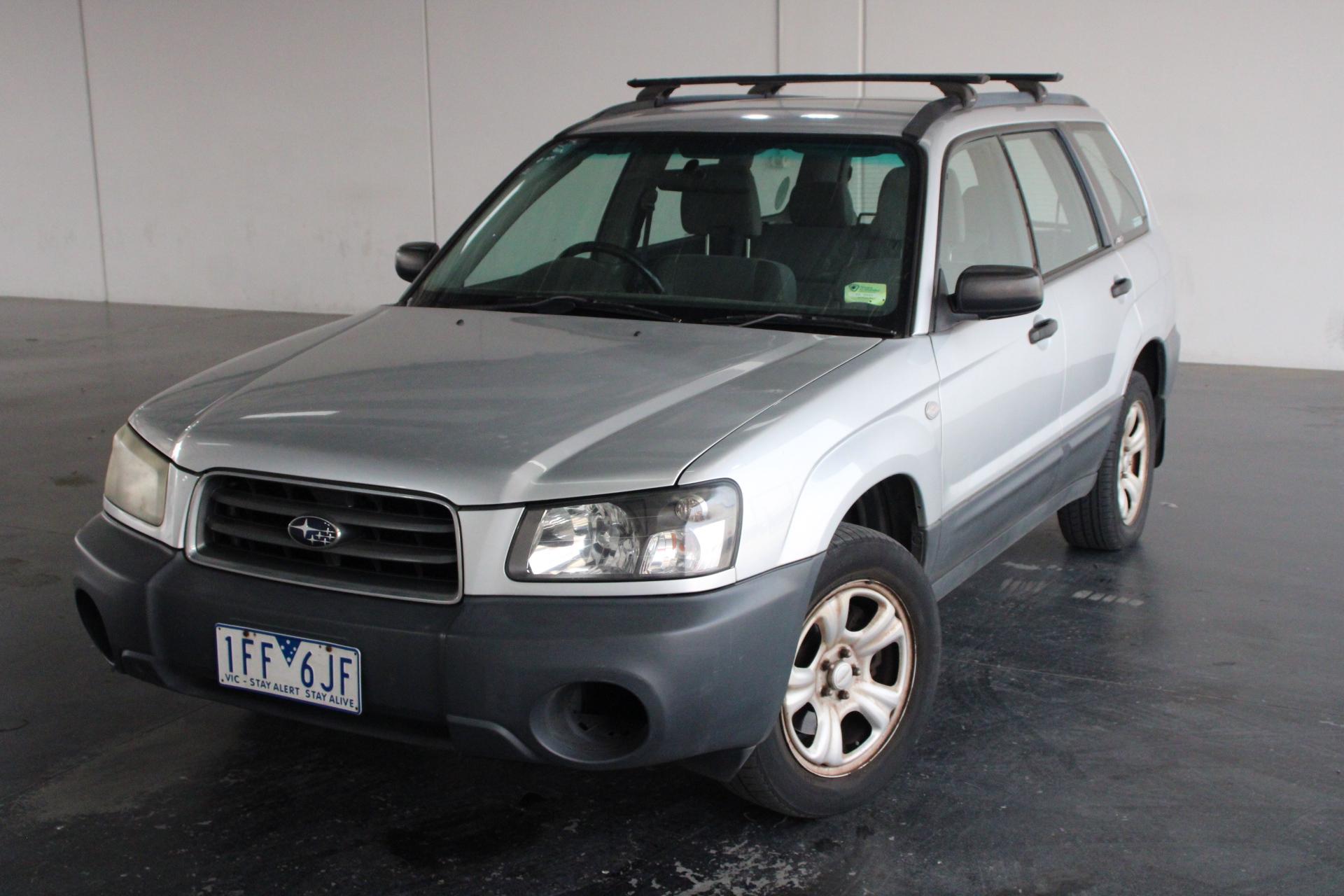 2004 Subaru Forester X Manual Wagon