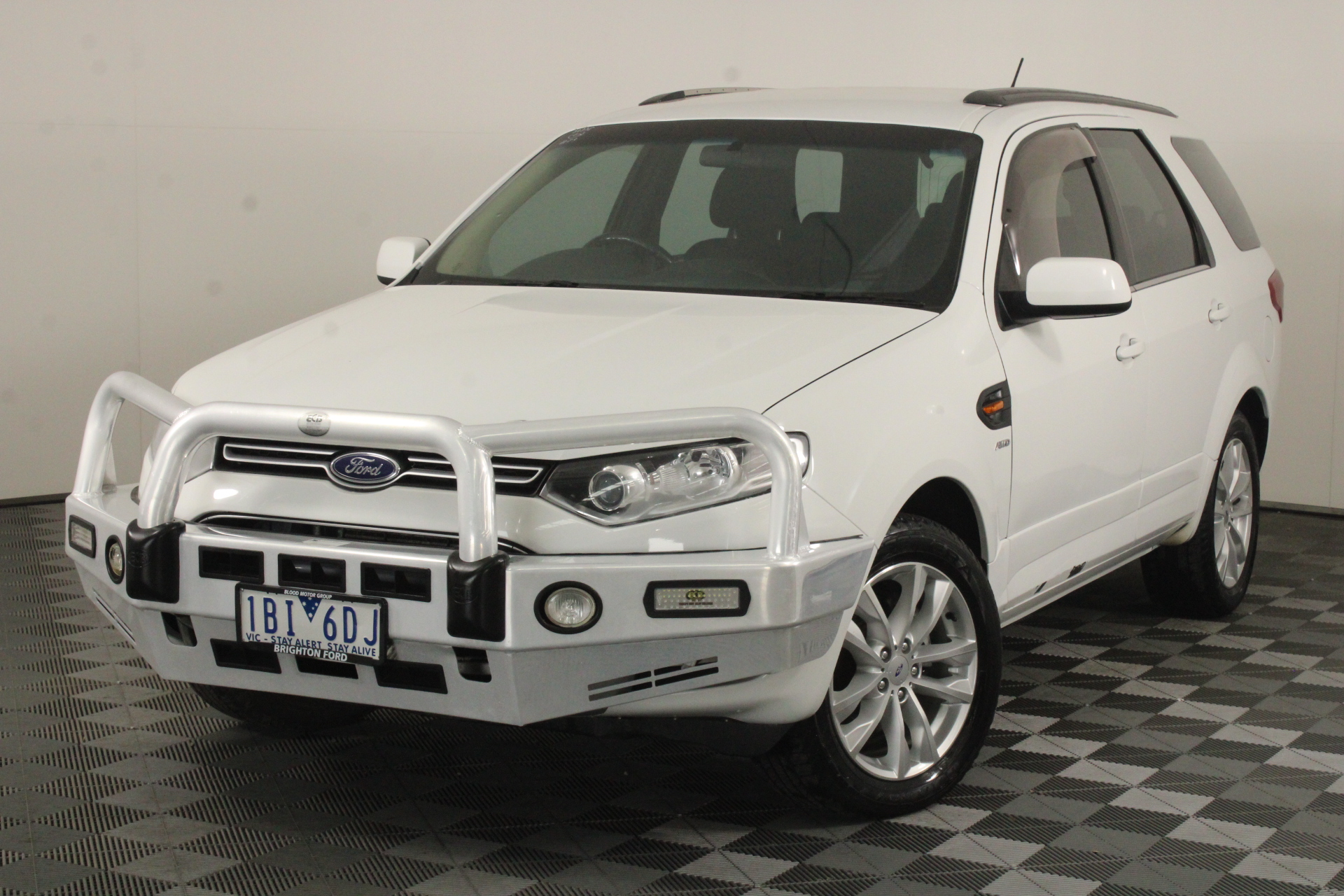 2014 Ford Territory TS (4x4) SZ Turbo Diesel Automatic 7 Seats Wagon