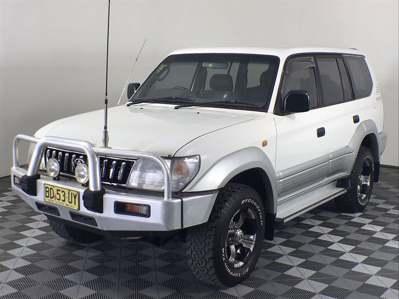 1998 Toyota Landcruiser Prado GXL (4x4) VZJ95R Automatic 8 Seats Wagon