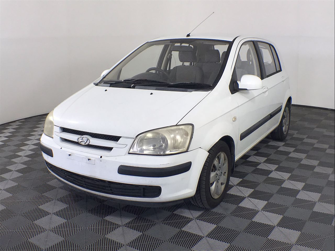 2004 Hyundai Getz GL TB Manual Hatchback