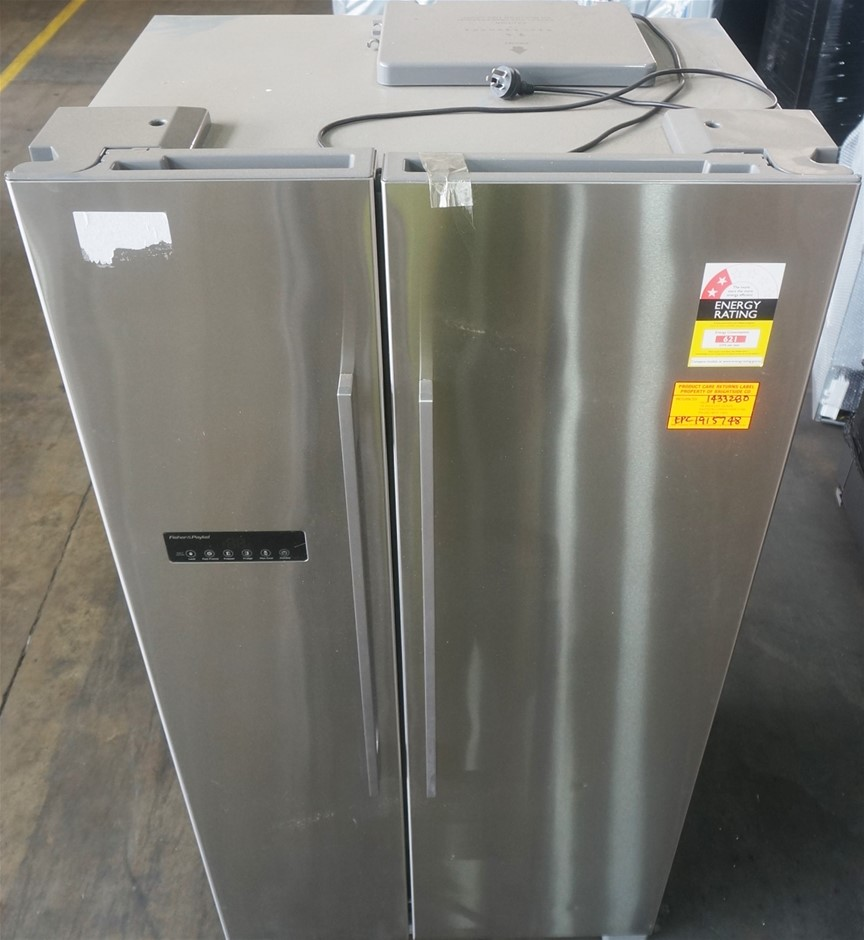 Fisher & Paykel 628L Stainless Steel Side by Side Fridge (RX628DX1)