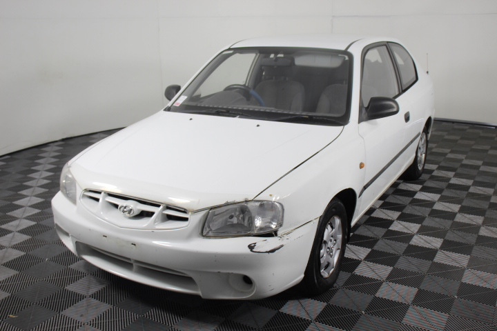 2001 Hyundai Accent GL LS Manual Hatchback