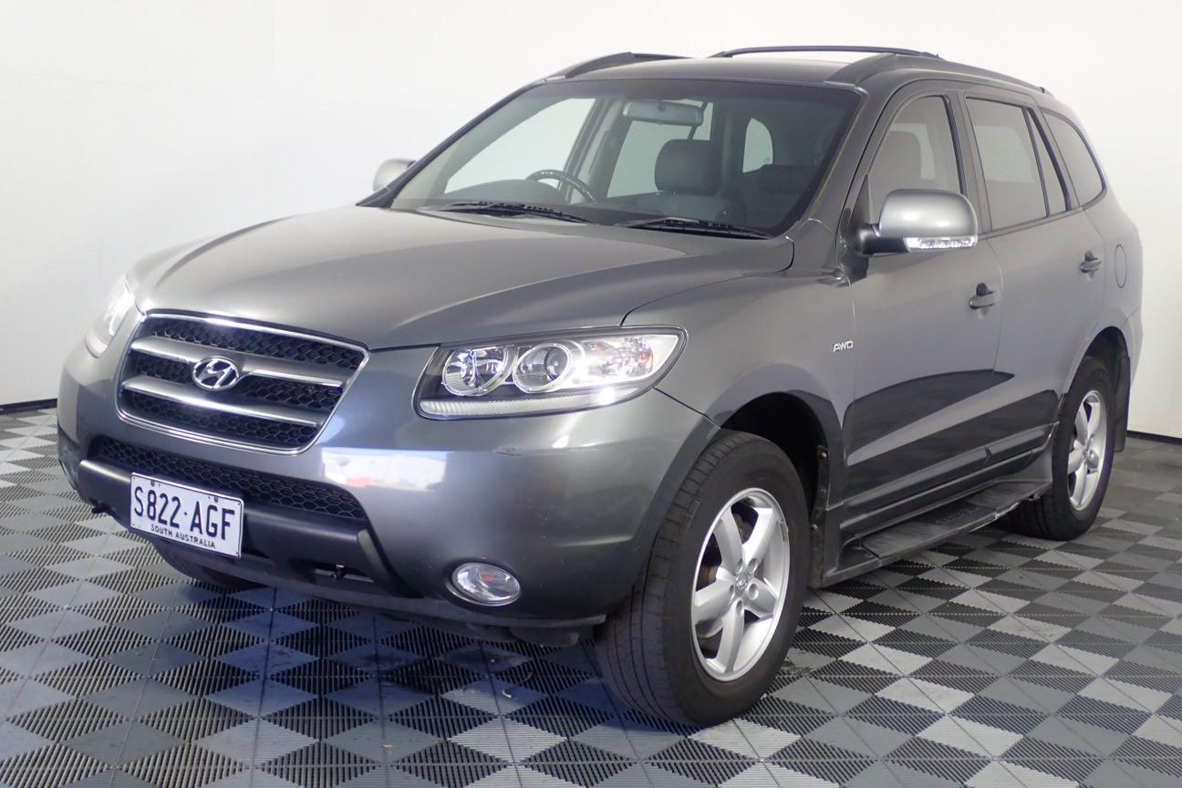 2009 Hyundai Santa Fe SLX CRDi (4x4) CM T/D Automatic 7 Seats Wagon