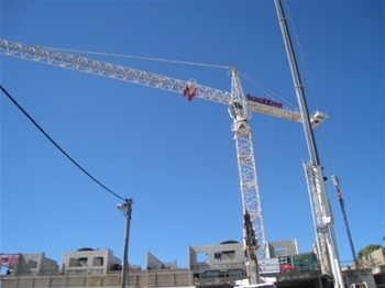 1987 Liebherr-Werk Electric Tower Crane