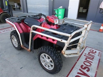 2011 Polaris Sportsman 850XP 1 seater