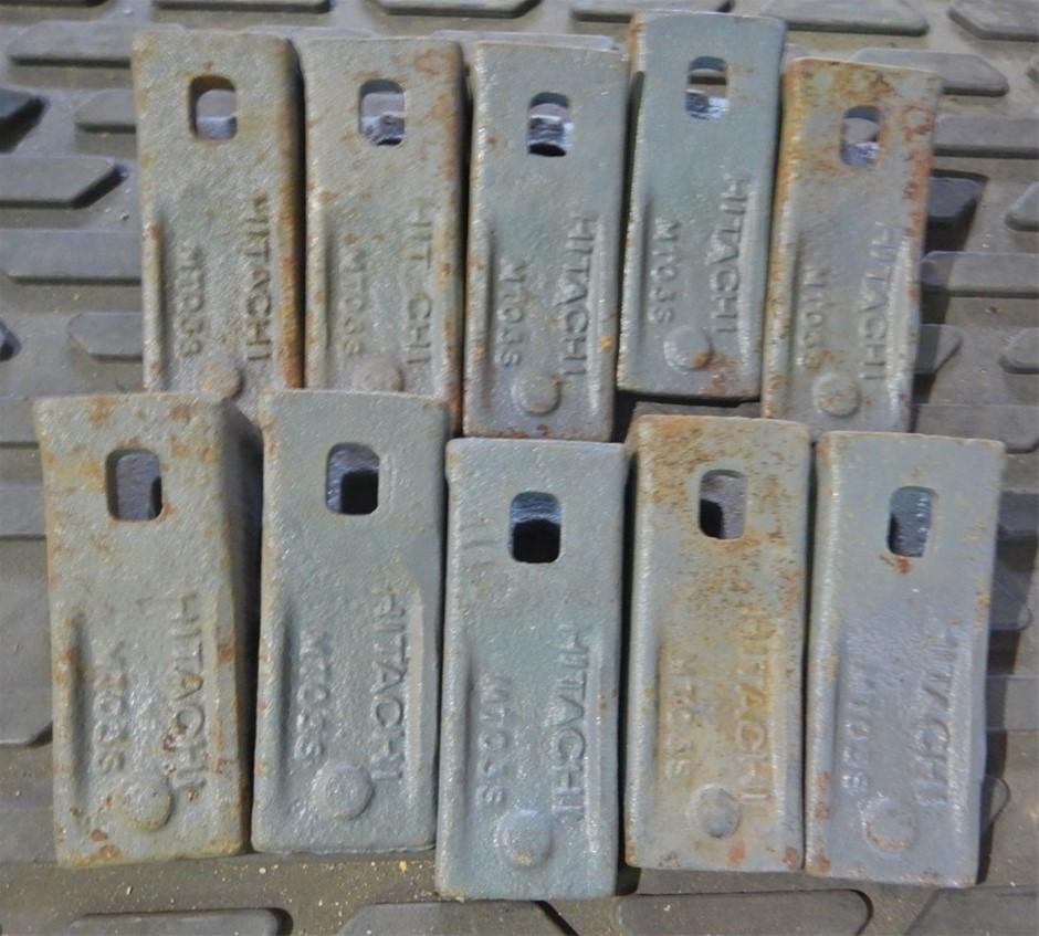 Qty 10 x MT035 Hitachi Excavator Bucket Chisel Teeth (Pooraka, SA)