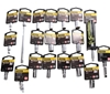 20 x STANLEY Assorted Metric/AF 1/4`` Drive 6pt Sockets. Includes: 8 x A/F