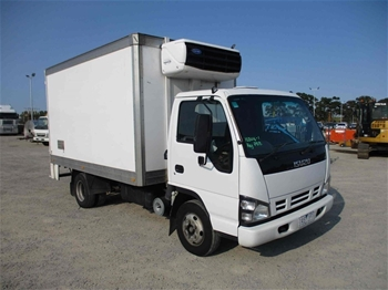 Unreserved Refrigerated Body Truck