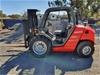 2005 Manitou MH 25-4T Rough Terrain Forklift