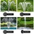 Gardeon 30W Solar Powered Water Pond Pump with Battery Outdoor Submersible