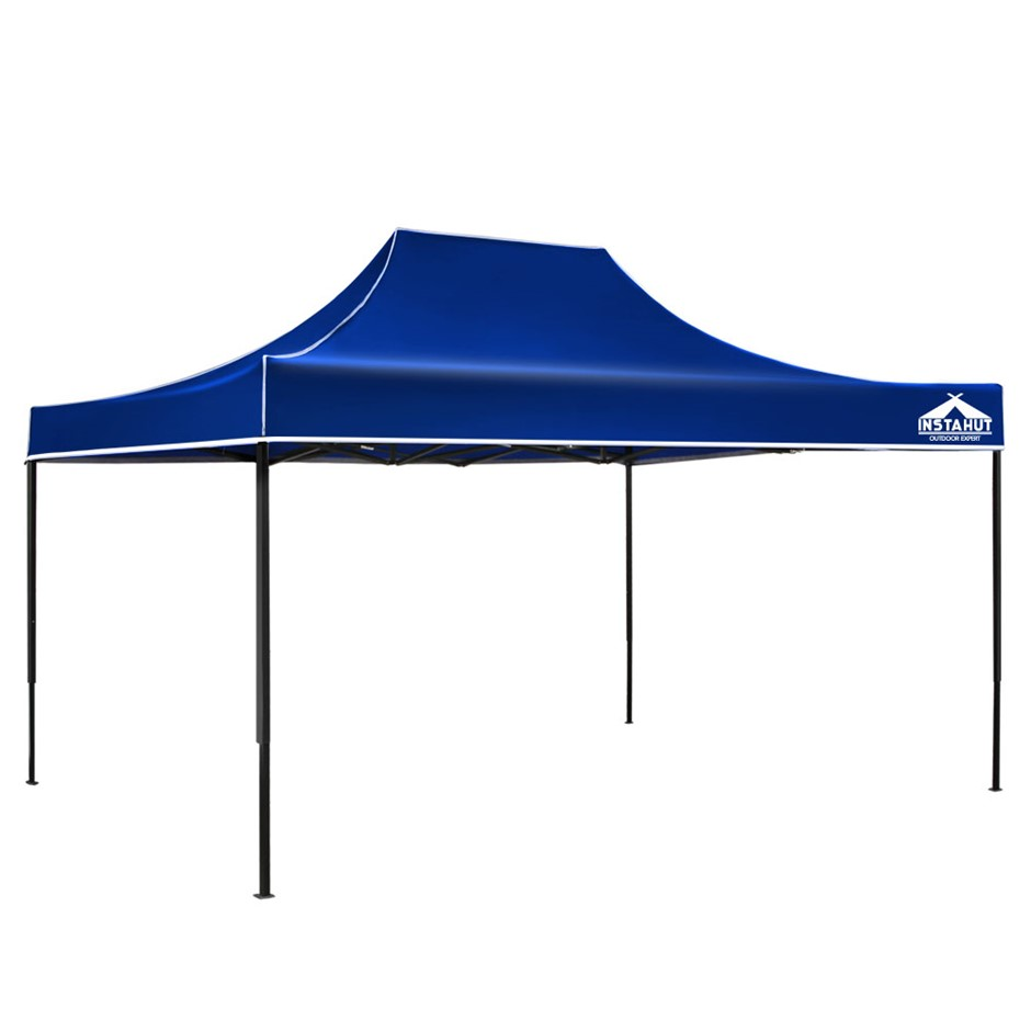 Instahut 3x4.5 Outdoor Gazebo - Blue