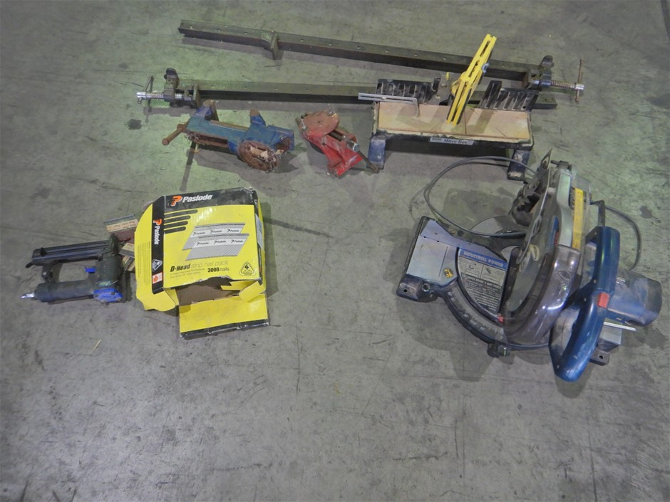 Mitre Saw & Assorted Vices (Pooraka, SA)