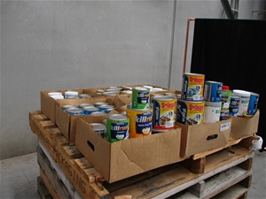 Qty 4 x Pallet of Assorted Paint
