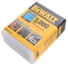 4 Packs of Pack of 5,000 x DeWALT Heavy Duty Staples 7mm. Buyers Note - Dis