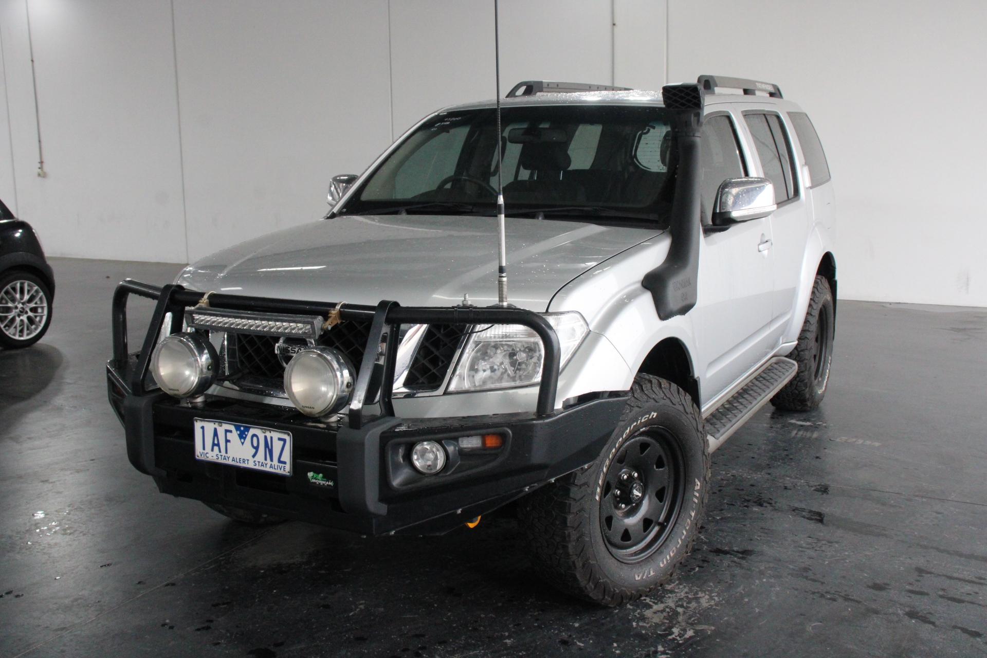 2013 Nissan Pathfinder ST-L (4x4) R51 Manual 7 Seats Wagon