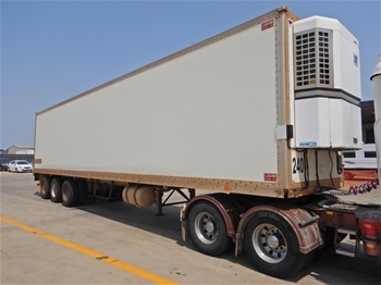 1999 Lucar Standard Triaxle Refrigerated Trailer