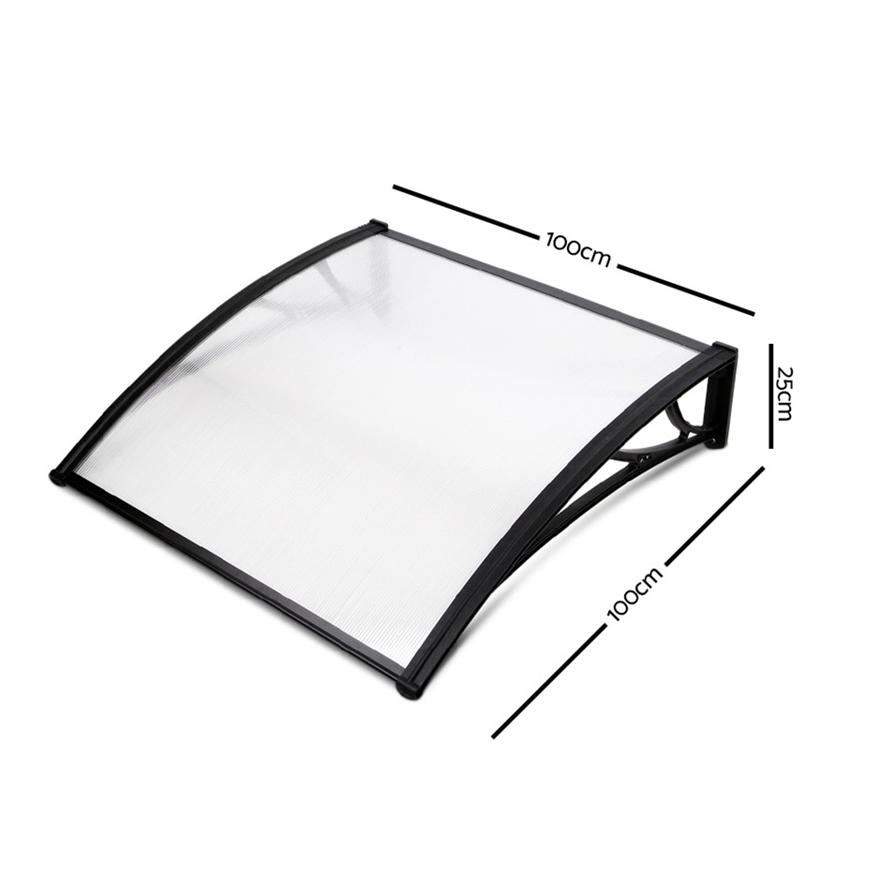 Buy DIY Transparent Window Door Awning Cover | GraysOnline ...