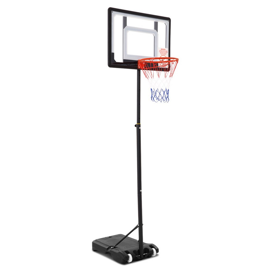 Everfit 2.1M Basketball Stand Hoop System Rim Height Adjustable Portable