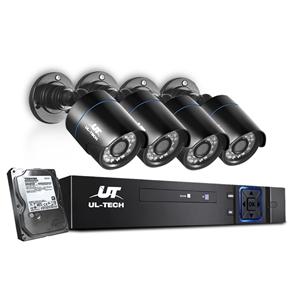 UL Tech CCTV Security System 2TB 4CH DVR
