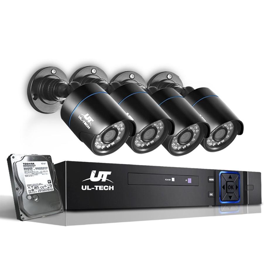 UL-tech Home CCTV Camera Security System 1080P DVR HD Night Vision 1TB
