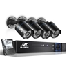 UL-tech CCTV Camera Home Security System 8CH DVR 1080P HD w 1TB Hard Drive