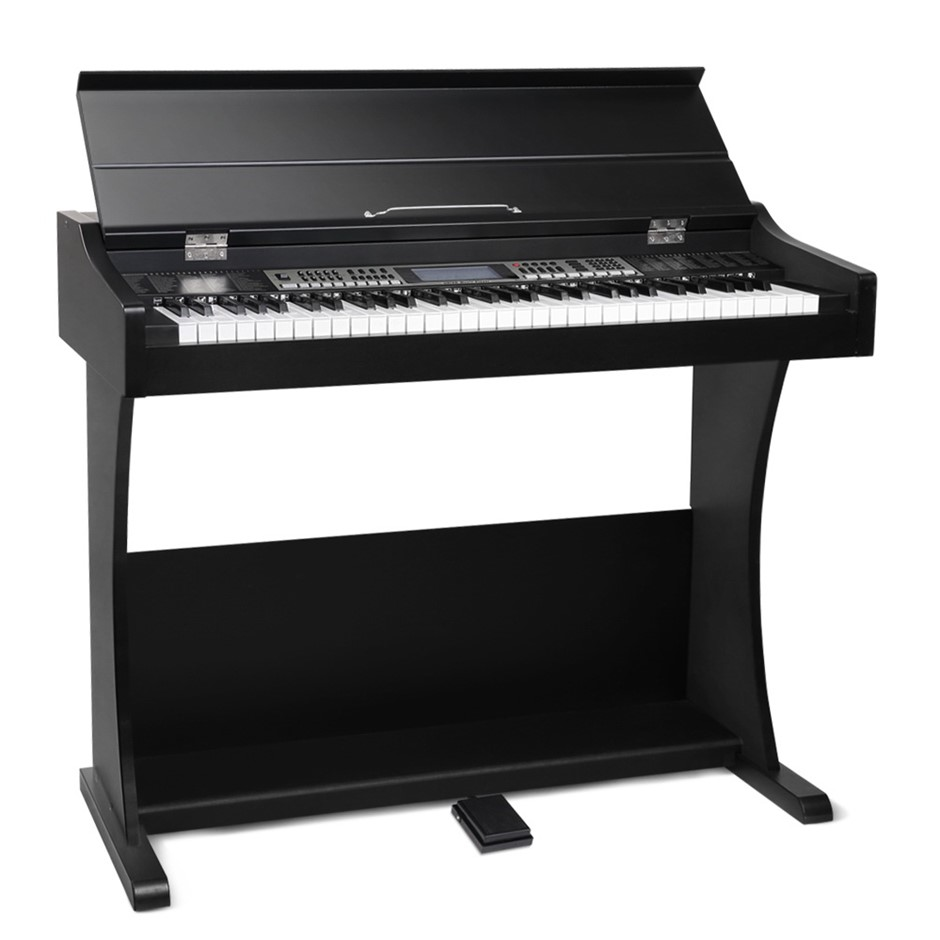 ALPHA Electronic Digital Piano Keyboard 61 Key Classical Music Stand