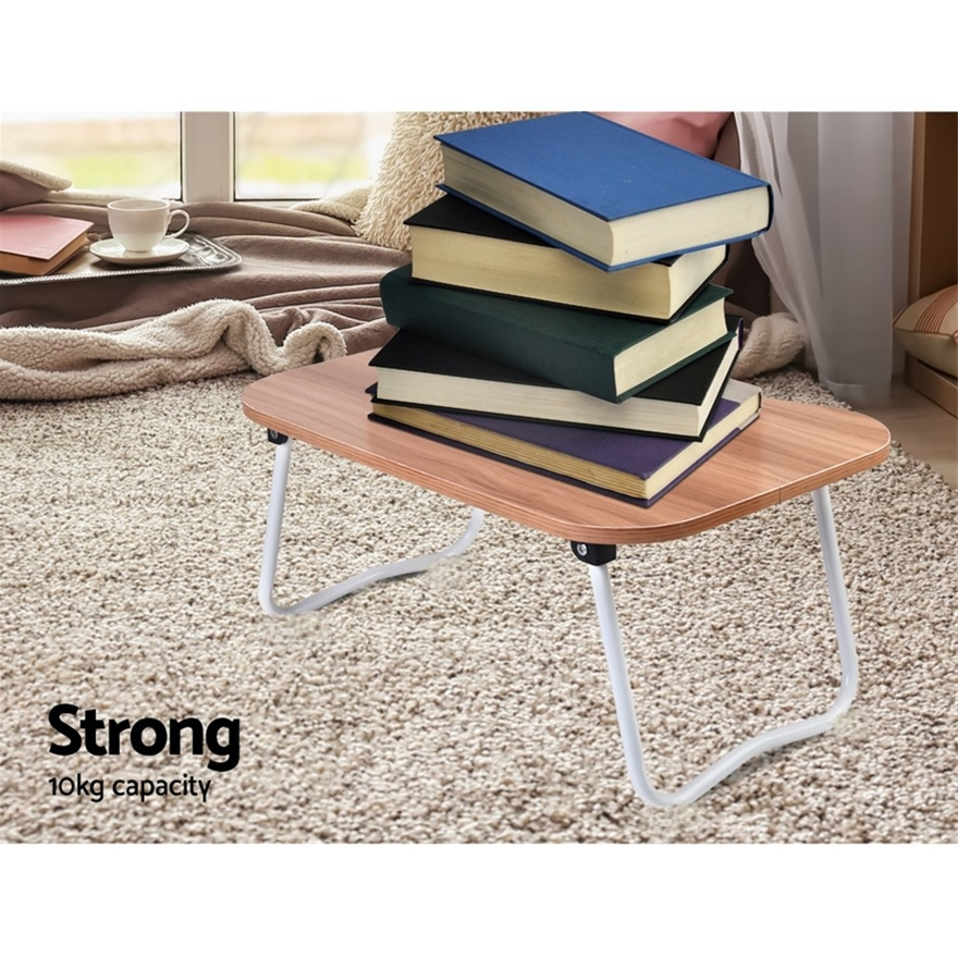 Buy Portable Bed Tray Table PC Folding Laptop Desk Stand ...