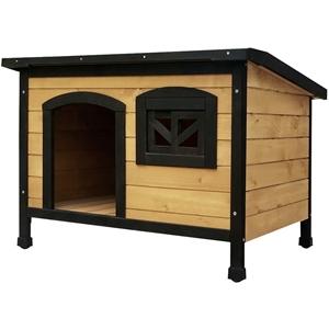 i.Pet Large Wooden Pet Kennel