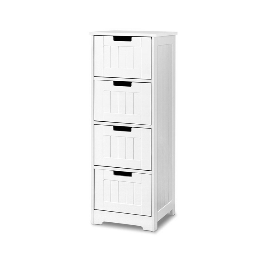 Buy 4 Chest Of Drawers Dresser Bedroom Storage Cabinet Cupboard Table Stand Grays Australia