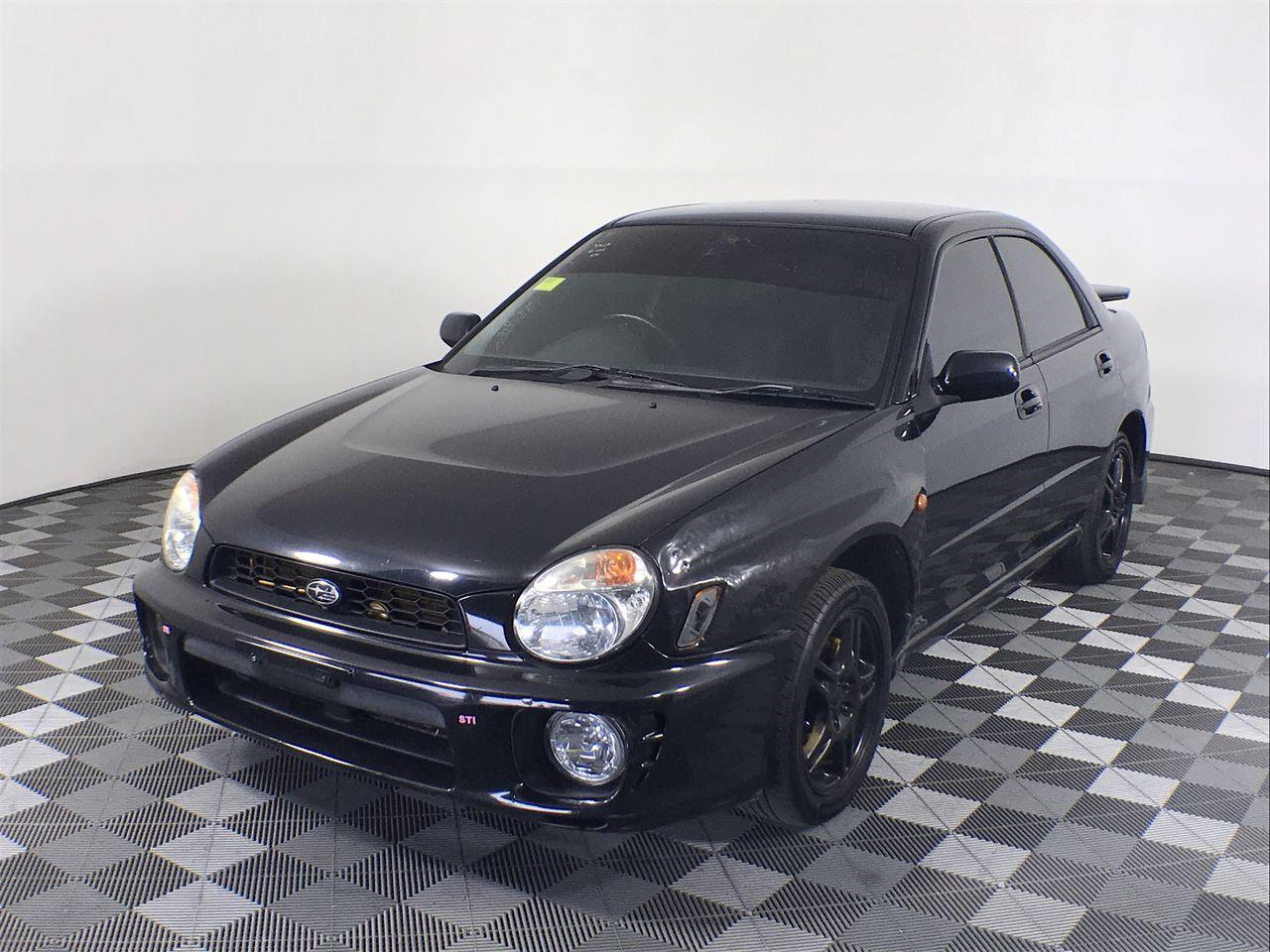 2001 Subaru Impreza RS (AWD) S44 Manual Sedan