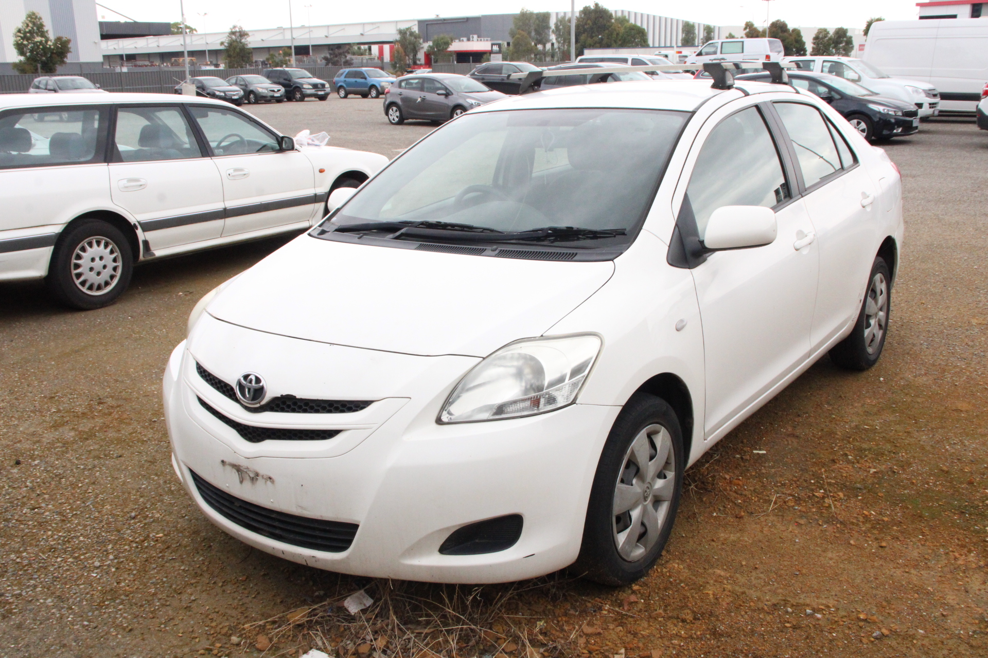 2008 Toyota Yaris YRS NCP93R Manual Sedan