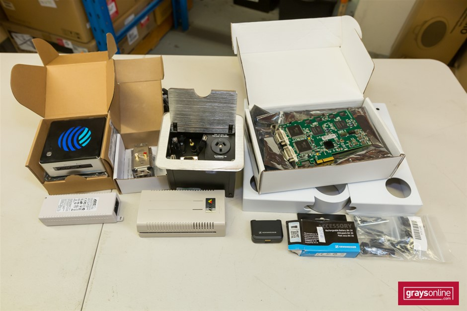 1 x Pallet Assorted Electronic & Electical Components