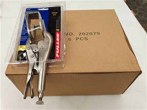Qty 5 x Fuller Tools Welding Clamps