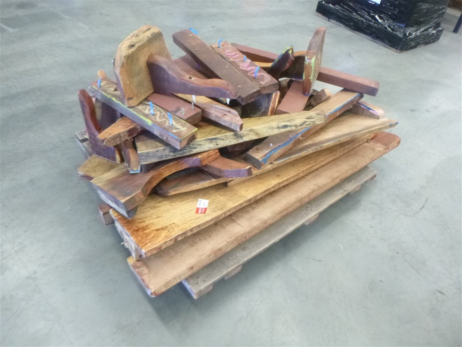 Pallet of Tables and Parts