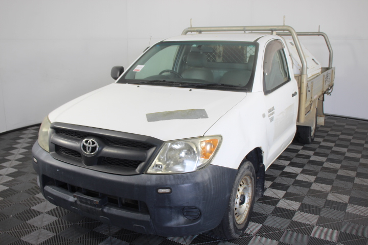 2008 Toyota Hilux Workmate TGN16R Manual Cab Chassis