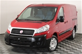 Unreserved 2015 Fiat Scudo Turbo Diesel Manual