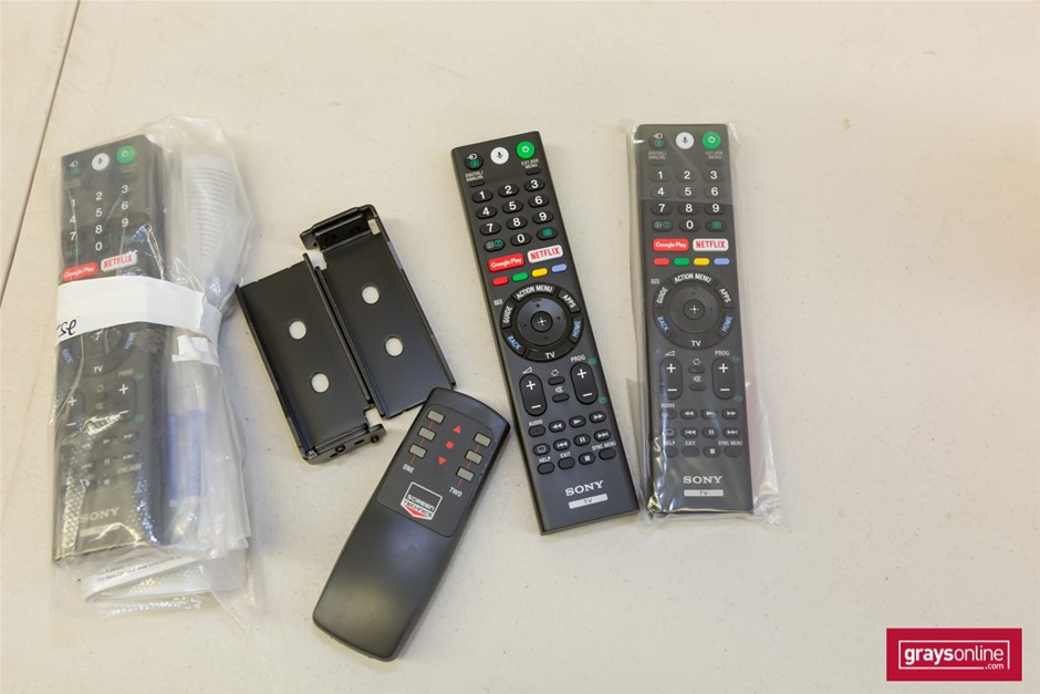 Assorted Television Remote Control Units