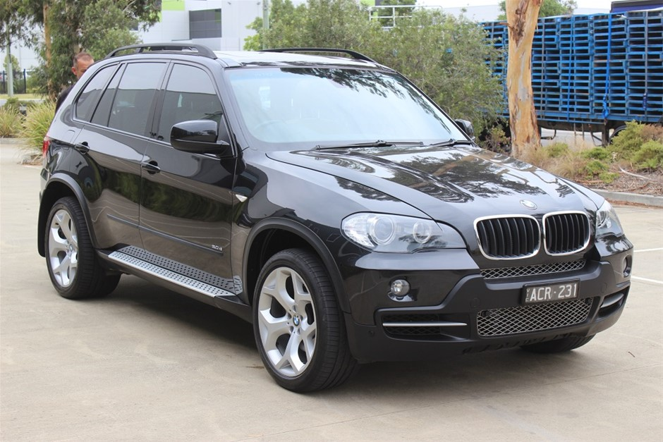 2008 BMW X5 d E70 7 Seater 4WD Automatic SUV