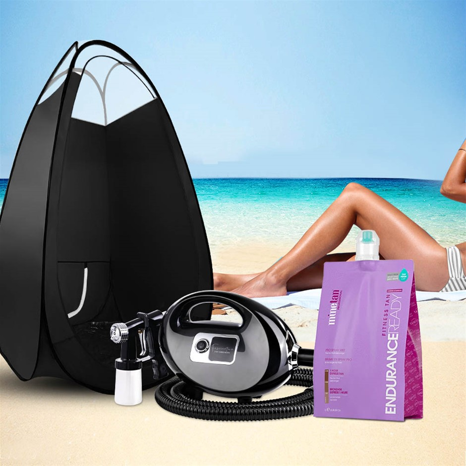 Spray Tan Machine Solution Tent Kit Spray Gun HVLP Sunless Endurance